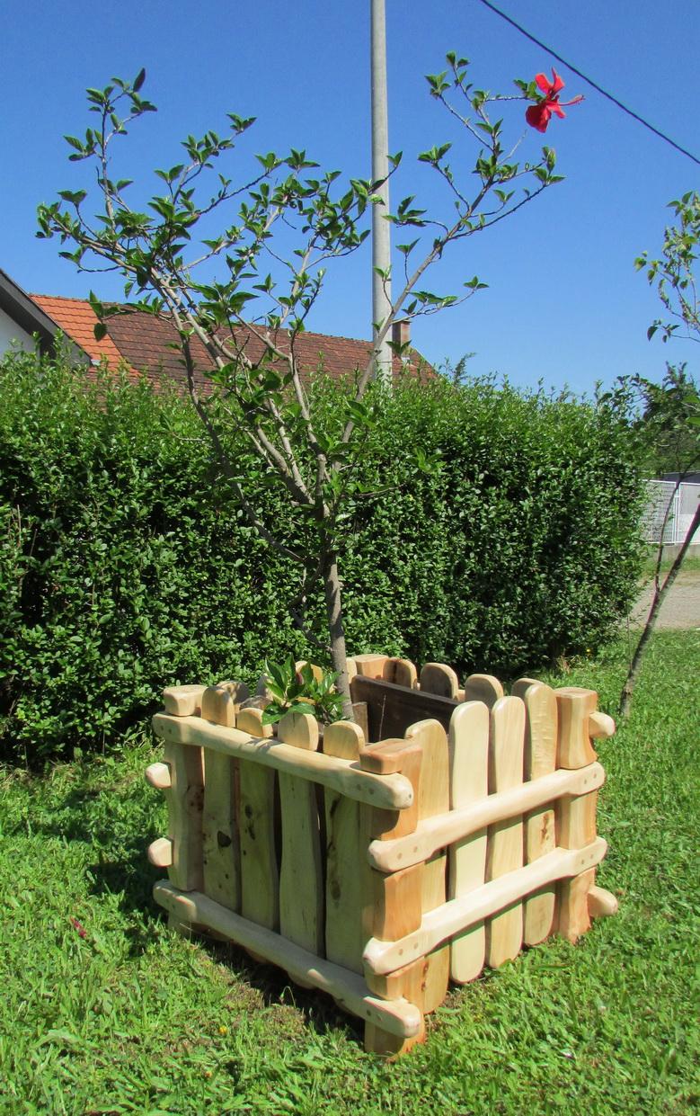 Žardinjere od drveta